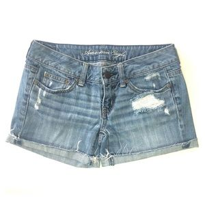 American Eagle Low Rise Shorts. Size 0